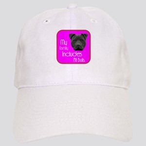 My Family Includes Pit Bulls Cap