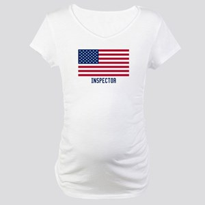 Ameircan Inspector Maternity T-Shirt