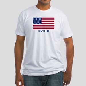 Ameircan Inspector Fitted T-Shirt
