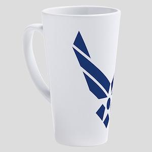 USAF Logo Symbol 17 oz Latte Mug