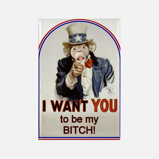 Be My Bitch Rectangle Magnet (10 pack)