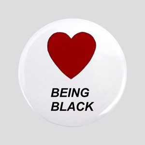 "LUV Being Black 3.5"" Button"