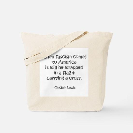 Fascism Tote Bag