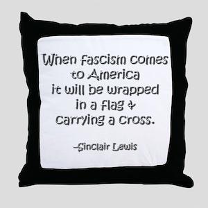 Fascism Throw Pillow