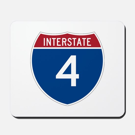 Interstate 4 Mousepad