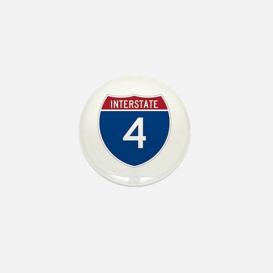 Interstate 4 Mini Button