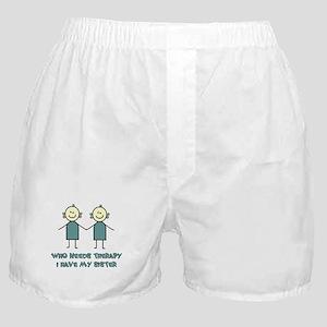 Sisters Fun Boxer Shorts