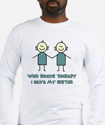 Sisters Fun Long Sleeve T-Shirt