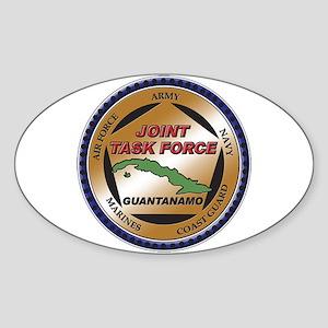 JTF Guantanamo Oval Sticker