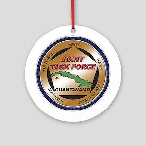 JTF Guantanamo Ornament (Round)