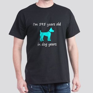 85 Dog Years Lt Blue Dog 1 T-Shirt