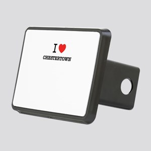 I Love CHESTERTOWN Rectangular Hitch Cover