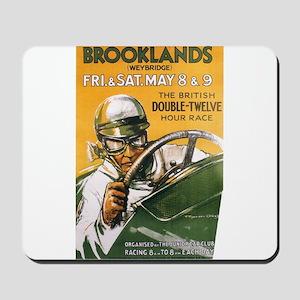 Brooklands Gran Prix Poster Mousepad