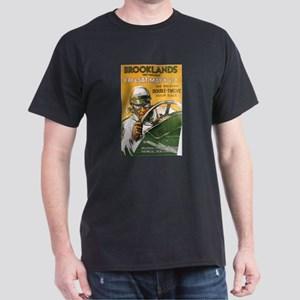 Brooklands Gran Prix Poster Dark T-Shirt