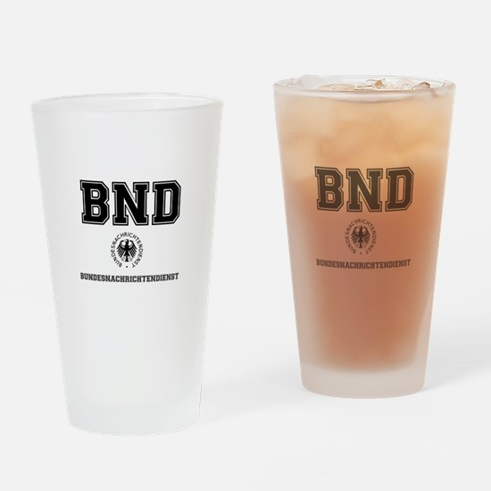 BND - GERMAN SPY AGENCY - Drinking Glass