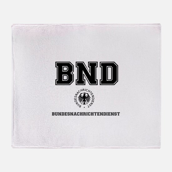 BND - GERMAN SPY AGENCY - Throw Blanket
