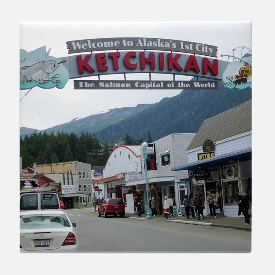 Ketchikan Tile Coaster