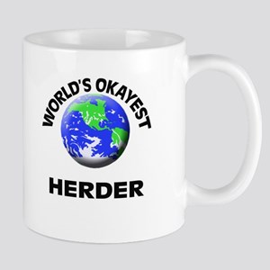 World's Okayest Herder Mugs