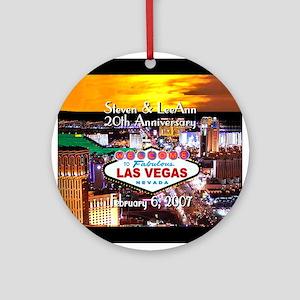 Las Vegas Anniversary Ornament (RD) Steven LeeAnn