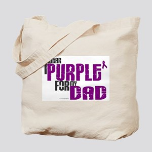 I Wear Purple For My Dad 6 (PC) Tote Bag