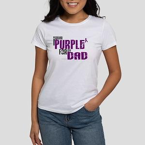 I Wear Purple For My Dad 6 (PC) Women's T-Shirt