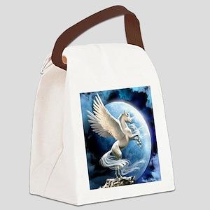 Magical Unicorn Canvas Lunch Bag