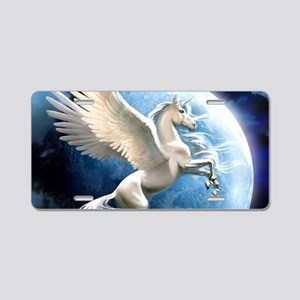 Magical Unicorn Aluminum License Plate
