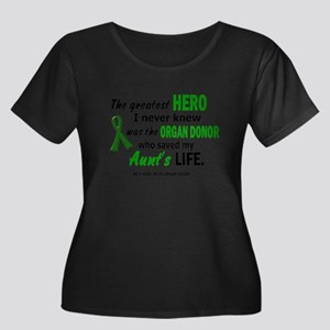 Hero I Never Knew 1 (Aunt) Plus Size T-Shirt