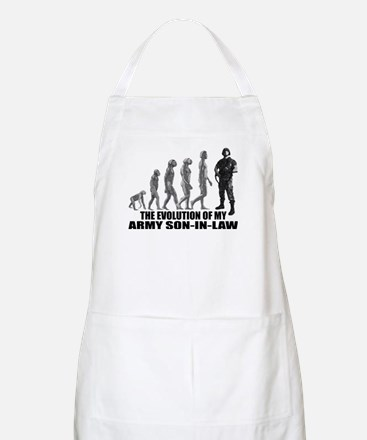 Evolution of my Army Son-n-Law BBQ Apron