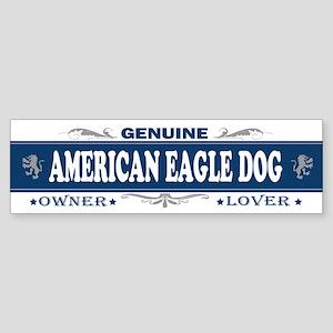 AMERICAN EAGLE DOG Bumper Sticker