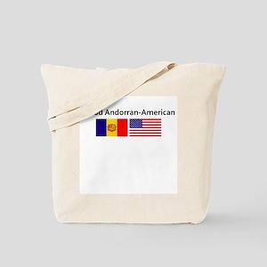 Proud Andorran American Tote Bag