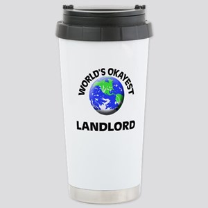 World's Okayest Landlor Stainless Steel Travel Mug