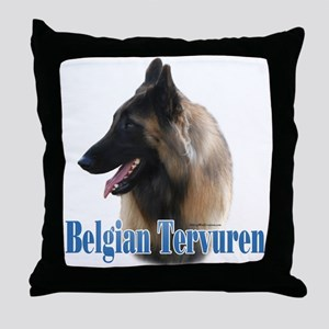 Tervuren Name Throw Pillow