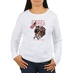 Defending America Women's Long Sleeve T-Shirt