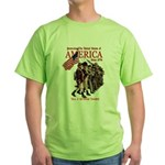 Defending America Green T-Shirt