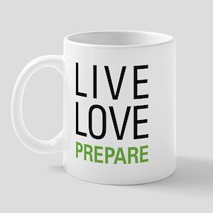Live Love Prepare Mug
