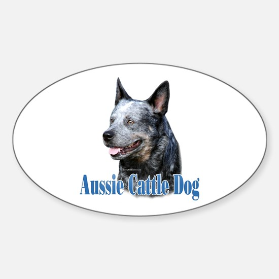 ACD(blue)Name Oval Decal