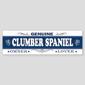 CLUMBER SPANIEL Bumper Sticker