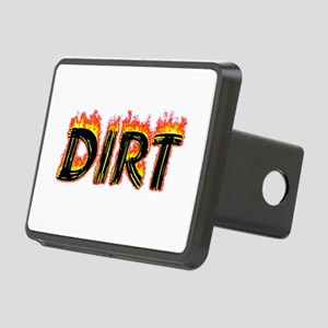 Flaming Dirt Hitch Cover