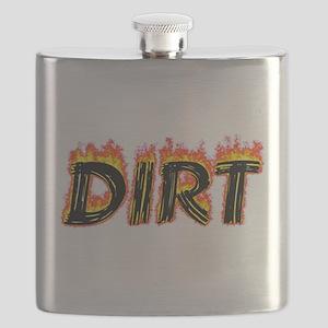 Flaming Dirt Flask