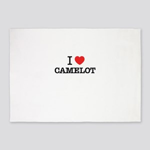 I Love CAMELOT 5'x7'Area Rug