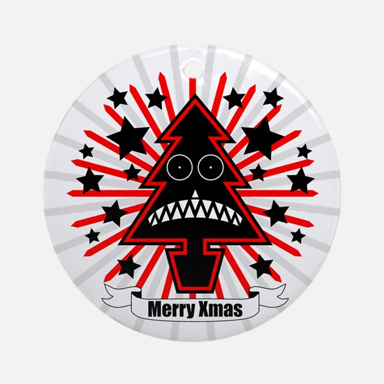Killer Xmas Tree Ornament (Round)