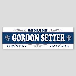 GORDON SETTER Bumper Sticker