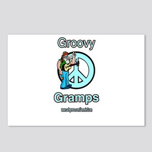 GROOVY GRAMPS Postcards (Package of 8)