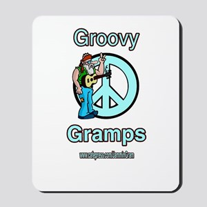 GROOVY GRAMPS Mousepad
