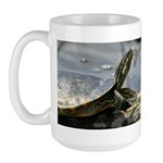 Basking Turtle Large Mug