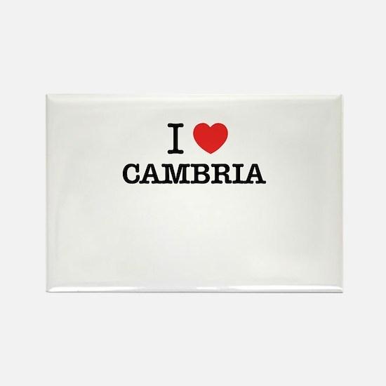 I Love CAMBRIA Magnets