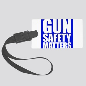 Gun Safety Matters Luggage Tag