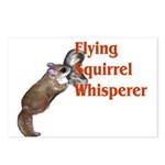 Flying Squirrel Whisperer Postcards (Package of 8)