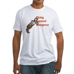 Flying Squirrel Whisperer Fitted T-Shirt